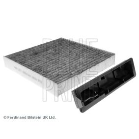 Filter, interior air Length: 186mm, Width: 181,0mm, Height: 28mm with OEM Number 7711 426 872