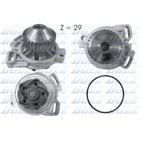 DOLZ Wasserpumpe A158 für AUDI 90 (89, 89Q, 8A, B3) 2.2 E quattro ab Baujahr 04.1987, 136 PS