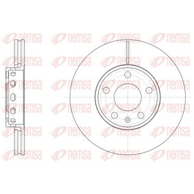 REMSA  6328.10 Bremsscheibe Bremsscheibendicke: 25mm, Lochanzahl: 5, Ø: 288mm