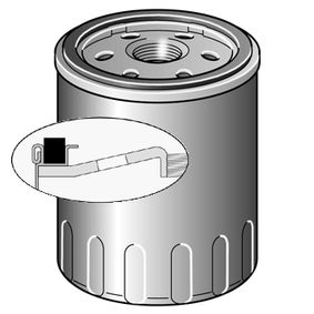 Oil Filter Ø: 76mm, Height: 85mm with OEM Number 116 3420