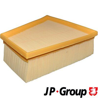 JP GROUP  1118603600 Luftfilter Länge: 213mm, Breite: 219mm, Höhe: 70mm