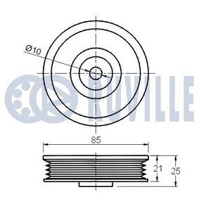 RUVILLE Spurstangenkopf 915402 für AUDI 80 (8C, B4) 2.8 quattro ab Baujahr 09.1991, 174 PS