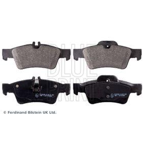 2006 Mercedes W211 E 220 CDI 2.2 (211.006) Brake Pad Set, disc brake ADU174203