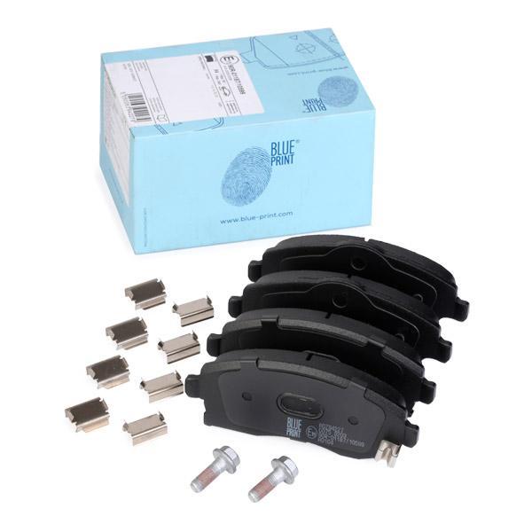 BLUE PRINT  ADZ94227 Bremsbelagsatz, Scheibenbremse Breite: 52,8, 55,4mm, Dicke/Stärke 1: 16mm