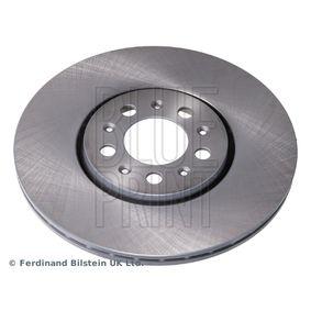 Bremsscheibe Bremsscheibendicke: 25mm, Ø: 288,0mm mit OEM-Nummer 1J0 615 301C