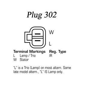 Lichtmaschine Rippenanzahl: 6 mit OEM-Nummer LR170509