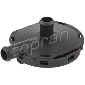 TOPRAN  113 634 Valvola, Ventilazione carter