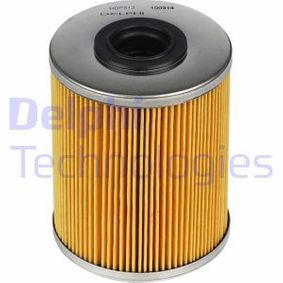2005 Vauxhall Astra H 1.7 CDTI Fuel filter HDF513