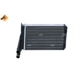 Wärmetauscher VW PASSAT Variant (3B6) 1.9 TDI 130 PS ab 11.2000 NRF Wärmetauscher, Innenraumheizung (54302) für