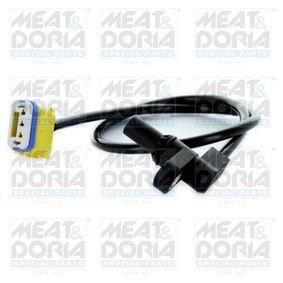 Sensor de Velocidad RENAULT MEGANE II (BM0/1_, CM0/1_) 1.6 16V de Año 01.2006 112 CV: Sensor de revoluciones, caja automática (87522) para de MEAT & DORIA