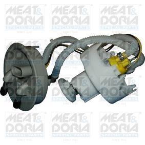 Kraftstoffpumpe VW PASSAT Variant (3B6) 1.9 TDI 130 PS ab 11.2000 MEAT & DORIA Kraftstoff-Fördereinheit (76885) für