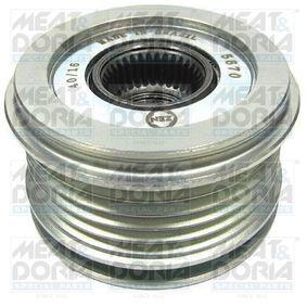Generatorfreilauf 45104 CLIO 2 (BB0/1/2, CB0/1/2) 1.5 dCi Bj 2004