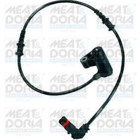 Sensor, Raddrehzahl Pol-Anzahl: 2-polig, Länge über Alles: 660mm mit OEM-Nummer 168-540-0117