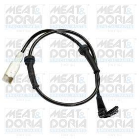 Sensor, Raddrehzahl Pol-Anzahl: 2-polig, Länge über Alles: 720mm mit OEM-Nummer 96.353.847.80