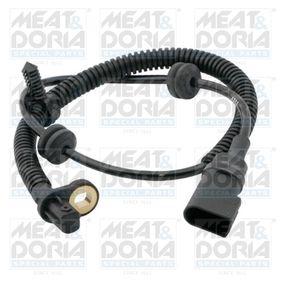 Sensor, Raddrehzahl Pol-Anzahl: 2-polig, Länge über Alles: 610mm mit OEM-Nummer 98AG-2B372CC