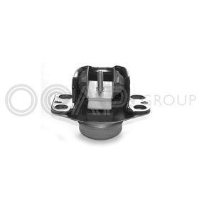 Soporte, motor Caucho/metal con OEM número 7700 434 370