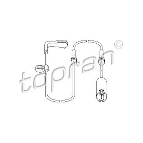 TOPRAN  500 658 Sensor, Bremsbelagverschleiß