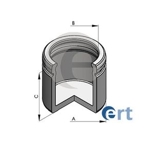 ERT  150595-C Kolben, Bremssattel Ø: 60mm, Höhe: 56mm