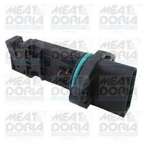 MEAT & DORIA Luftmassenmesser 86081 für AUDI A4 (8D2, B5) 1.9 TDI ab Baujahr 03.2000, 116 PS
