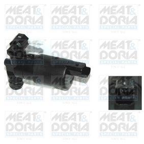 Waschwasserpumpe, Scheibenreinigung Spannung: 12V, Anschlussanzahl: 2 mit OEM-Nummer 1EM955451
