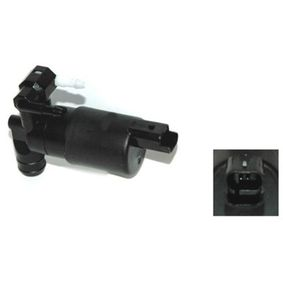 Water Pump, window cleaning Voltage: 12V, Number of connectors: 2 with OEM Number 93160293