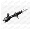 STARK Vorderachse links, Gasdruck, Federbein, oben Stift, unten Schelle SKSA0131771