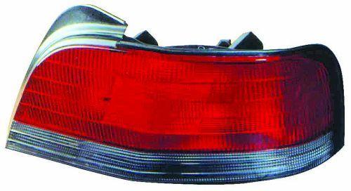 ABAKUS  214-1960L2U Combination Rearlight Red