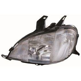 Hauptscheinwerfer für Fahrzeuge mit Leuchtweiteregelung (elektrisch), für Rechtsverkehr mit OEM-Nummer A1638203761