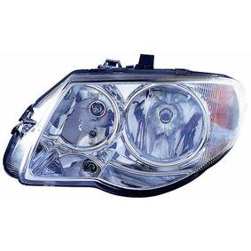 ABAKUS  433-1105R-LD-EM Hauptscheinwerfer für Fahrzeuge mit Leuchtweiteregelung, für Rechtsverkehr