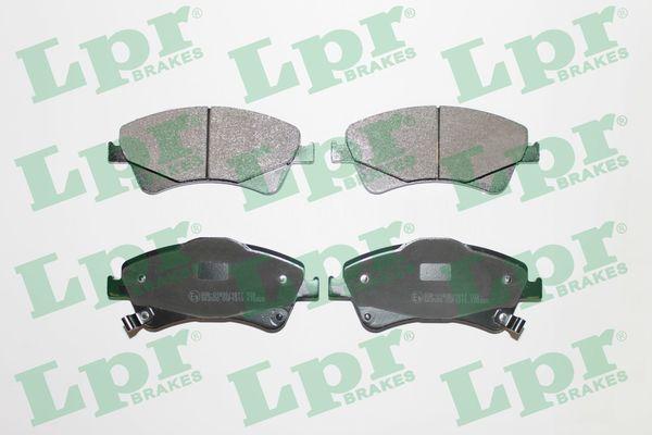 LPR  05P1313 Bremsbelagsatz, Scheibenbremse Breite: 150mm, Höhe 1: 62,5mm, Höhe 2: 65,4mm, Dicke/Stärke: 19mm