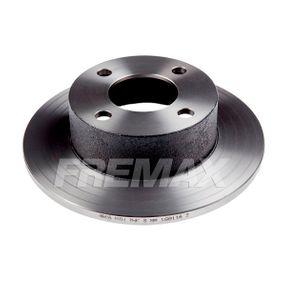 FREMAX Bremsscheibe BD-4010 für AUDI COUPE (89, 8B) 2.3 quattro ab Baujahr 05.1990, 134 PS