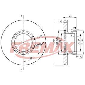 Bremsscheibe Bremsscheibendicke: 30mm, Ø: 304mm mit OEM-Nummer 6694210612