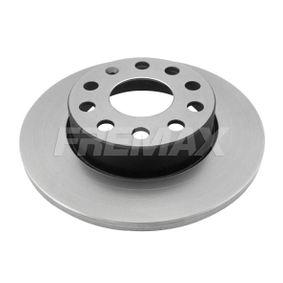Bremsscheibe Bremsscheibendicke: 12mm, Ø: 260mm mit OEM-Nummer 1K0 615 601 L