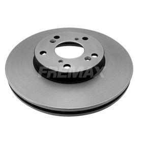 Brake Disc Brake Disc Thickness: 23mm, Ø: 282mm, Ø: 282mm with OEM Number 45251-S87-A00