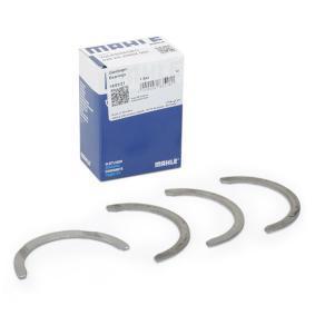 Kurbelwellenscheiben für VW GOLF IV (1J1) 1.6 100 PS ab Baujahr 08.1997 MAHLE ORIGINAL Distanzscheibe, Kurbelwelle (029 AS 20868 000) für