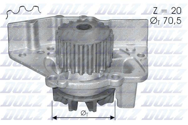 Wasserpumpe DOLZ C119 Erfahrung