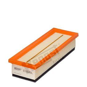 Luftfilter Länge: 278mm, Breite: 97mm, Höhe: 59mm, Länge: 278mm mit OEM-Nummer 55192012