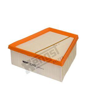 Luftfilter Länge: 213mm, Breite: 125mm, Höhe: 70mm, Länge: 213mm mit OEM-Nummer 6Q0 129 6620