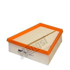 Luftfilter Länge: 213,0mm, Breite: 125,0mm, Höhe: 58,0mm mit OEM-Nummer 5JF 129 620 A