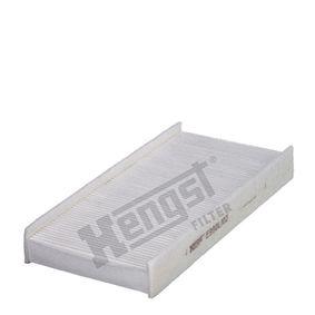 Filter, Innenraumluft Länge: 315mm, Breite: 152mm, Höhe: 40mm mit OEM-Nummer 6479.04