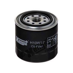Filtro de aceite H10W17 Pathfinder 3 (R51) 2.5 dCi 4WD ac 2015