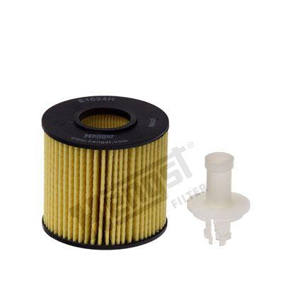 HENGST FILTER  E1024H D234 Oil Filter Ø: 71mm, Inner Diameter 2: 29mm, Inner Diameter 2: 29mm, Height: 67mm