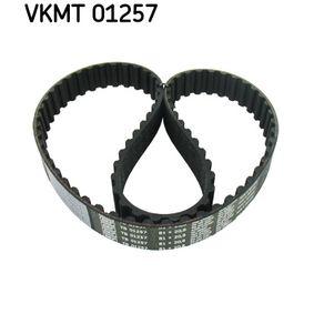 Zahnriemen für VW TRANSPORTER IV Bus (70XB, 70XC, 7DB, 7DW) 2.5 TDI 102 PS ab Baujahr 09.1995 SKF Zahnriemen (VKMT 01257) für