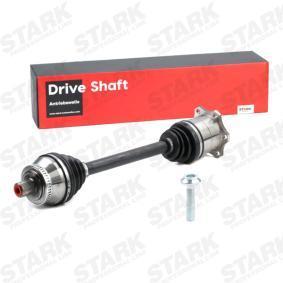 STARK Antriebswelle SKDS-0210053 für AUDI A4 Avant (8E5, B6) 3.0 quattro ab Baujahr 09.2001, 220 PS