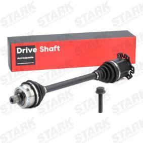 STARK Antriebswelle SKDS-0210195 für AUDI A4 Avant (8E5, B6) 3.0 quattro ab Baujahr 09.2001, 220 PS