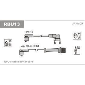 JANMOR  RBU13 Zündleitungssatz EPDM (Ethylen-Propylen-Dien-Kautschuk)