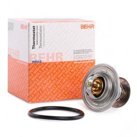 MAHLE ORIGINAL Thermostat, Kühlmittel TX 15 87D für AUDI 80 Avant (8C, B4) 2.0 E 16V ab Baujahr 02.1993, 140 PS