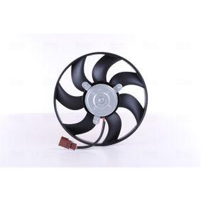 Вентилатор, охлаждане на двигателя 85680 Golf 5 (1K1) 1.9 TDI Г.П. 2008