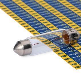 Крушка с нагреваема жичка, светлини на рег. номер B2,4W, SV8,5-8, 12волт, 10ват 009461100000