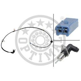 Capteur ABS et Bague ABS SUZUKI LIANA (ER) 1.4 DDiS de Année 04.2004 90 CH: Capteur, vitesse de roue (06-S458) pour des OPTIMAL